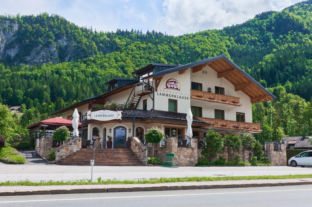 gasthof, landgasthof, lammerklause, familie bernhofer, scheffau am tennengebirge, golling